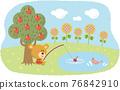 動物 漂亮 場景 76842910
