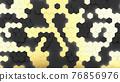Abstract hexagonal background 76856976