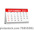 Calendar for year 2021. Week starts with sunday 76856981