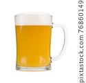 White beer mug isolated on white background 76860149