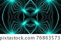 Kaleidoscope burning fireworks abstract background. 76863573