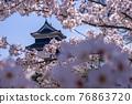 松本城 春天 春 76863720