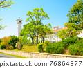 campus, schoolhouse, school building 76864877