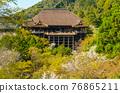 kiyomizudera temple, kiyomizudera, the stage of kiyomizu 76865211