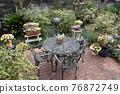 Flower garden 76872749