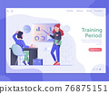 Job Training Period Web Landing Page Banner 76875151