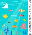 icon, summer, Sea 76875358