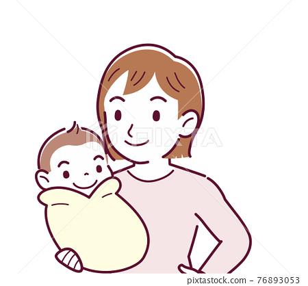 육아, 아이 키우기, 아기 76893053