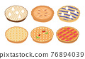 Pies vector set 76894039