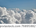 Clouds from above 76895882