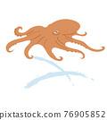 章魚的插圖 76905852