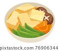 燉高野豆腐 76906344