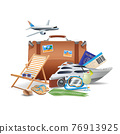 Tourism And Travel Concept 76913925