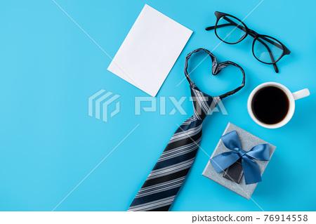 父親節 禮物 卡片 背景 Father's day gift background 父の日ギフト 76914558