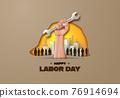 Labor day concept 76914694