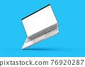 Laptop mockup 76920287