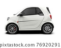 City car mockup 76920291