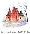 Church of Saint John of Jerusalem in Poznan, Poland 76923220