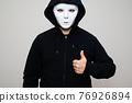 mask, respirator, hoodie 76926894