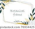 植物的框架圖。邀請和卡片模板(白色背景,向量,作物) 76934425