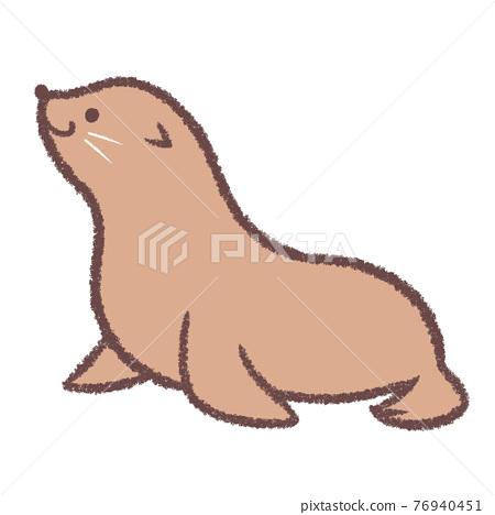 Sea lion 76940451