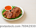 sun dried pork with sauce 76942930
