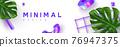 Minimal abstract summer design. 76947375