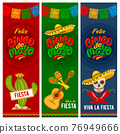 Cinco de Mayo banners set 76949666