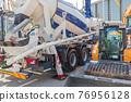 Cement Mixer Truck 76956128