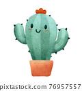Cute Cactus Mom in The Plant Pot 76957557