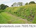 城堡廢墟 岩手縣 石垣 76957824