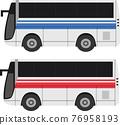 旅遊大巴 矢量 公共汽車 76958193