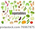 蔬菜 一套 食品 76967875