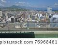 天空和大分市的露天浴池(朝別府) 76968461