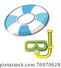 游泳圈 充氣 蛙鏡 76970628