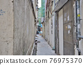 the alley between the residential area, To Kwa Wan 27 March 2021 76975370