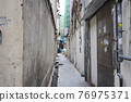 the alley between the residential area, To Kwa Wan 27 March 2021 76975371