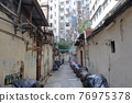 the alley between the residential area, To Kwa Wan 27 March 2021 76975378