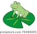 青蛙 樹蛙 荷花葉 76980005