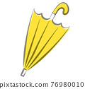 傘 矢量 帶刺的果子 76980010