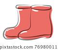 消防膠靴 矢量 鞋 76980011