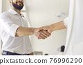 Agreement, successful negotiations, business deal 76996290