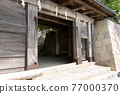 chinese-style gate, tower gate, two-story gate 77000370