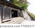 chinese-style gate, tower gate, two-story gate 77000377