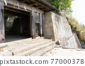 chinese-style gate, tower gate, two-story gate 77000378