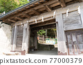 chinese-style gate, tower gate, two-story gate 77000379