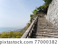 chinese-style gate, tower gate, two-story gate 77000382