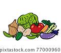 夏季蔬菜 77000960