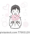 bouquet, bunch of flower, present 77003120