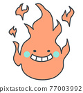 fire, flame, grinning 77003992